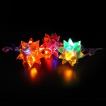Flashing Star Ball Necklace